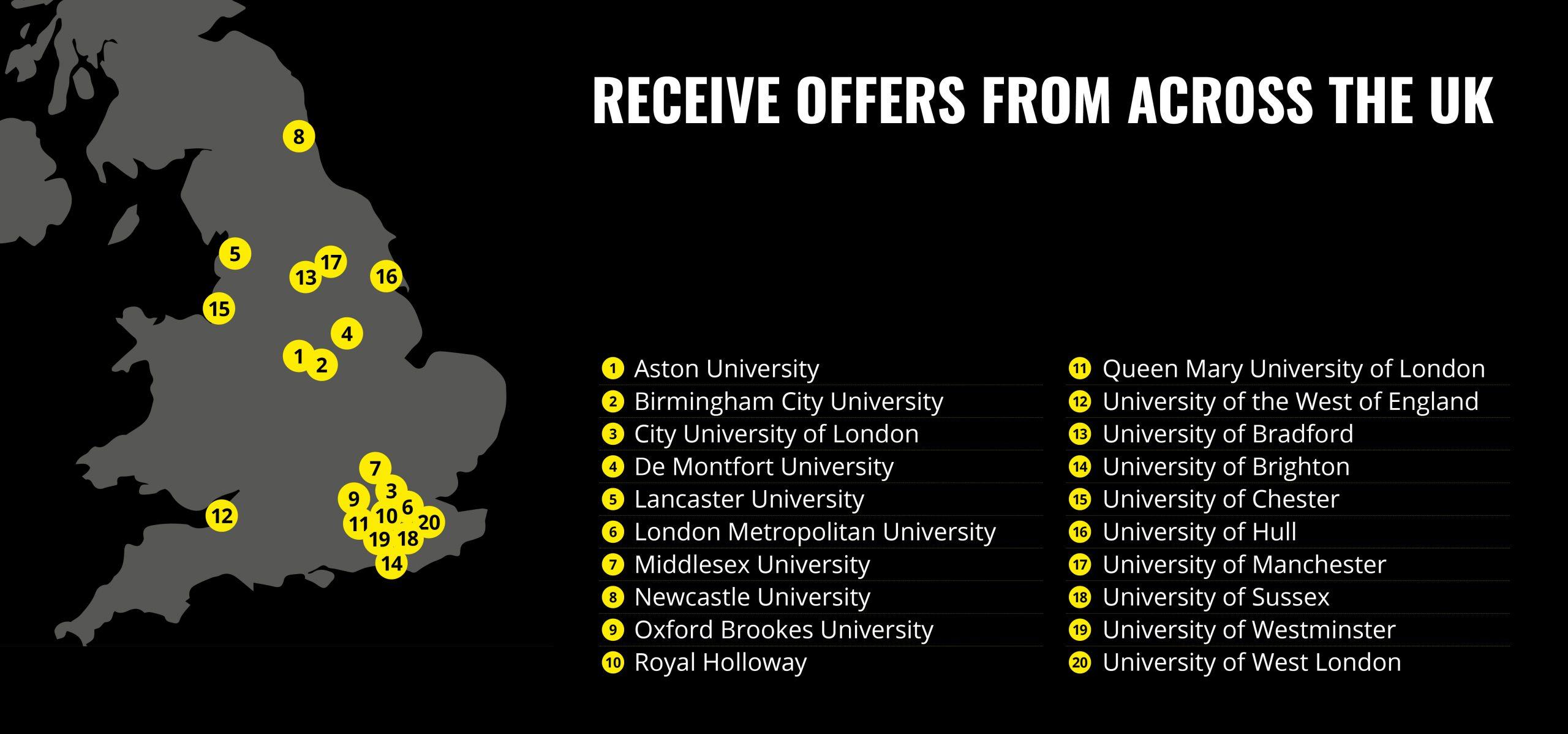 Stay London Universities