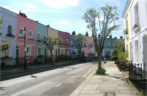 Stay Campus London Getting to Know Kentish Town Pastel Houses