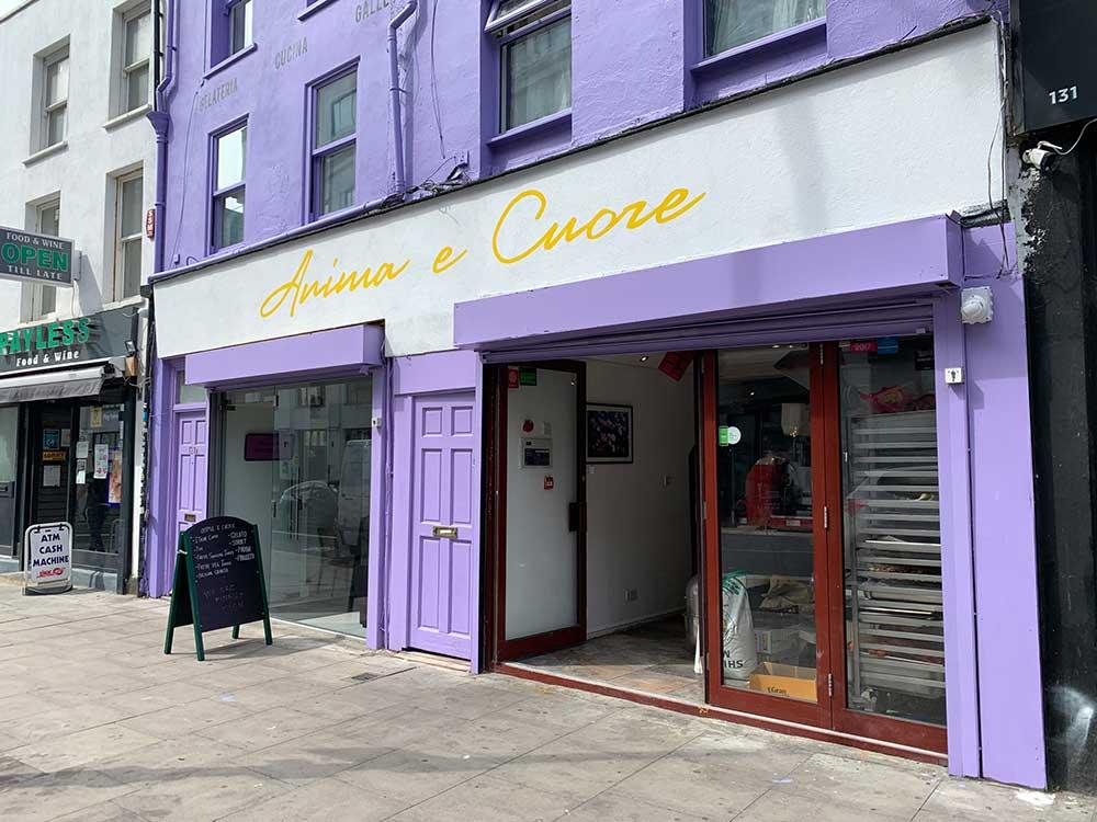 Stay Campus London Top 10 Restaurants Kentish Town Anima e Cuore
