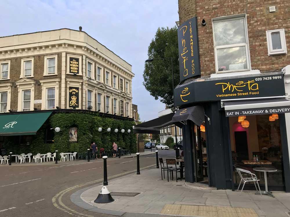 Stay Campus London Top 10 Restaurants Kentish Town Pho Ta