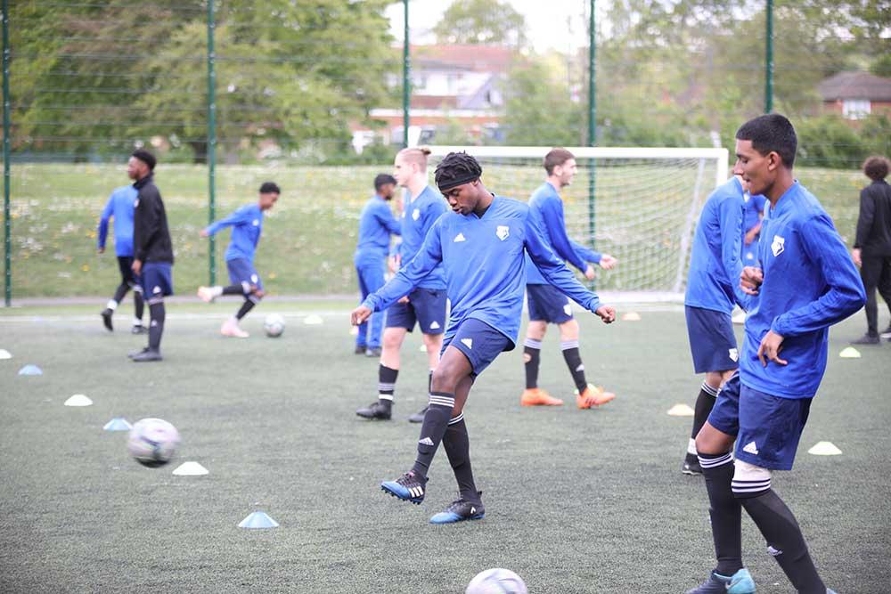 Stay Campus London Watford FC English & Football Academy Children Training